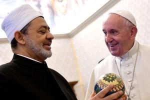 Papa Francesco ed il Grande Imam di Al-Azhar