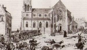La repressione delle manifestazioni di Fourmies il primo maggio 1891