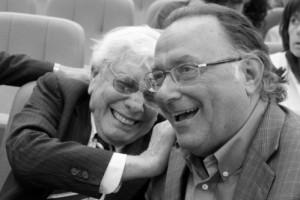 Mario Cervi con Raffo