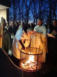 Liturgia del Lucernario nella Veglia Pasquale