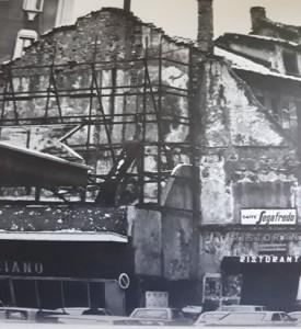 edificio di fronte al cinema Impero