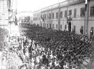 Manifestazione fascista a Varese (fonte Luce)
