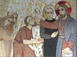 """""""Effata"""" in un mosaico di padre Marko Ivan Rupnik"""
