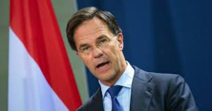 Il premier olandese Rutte