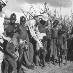 Enrico Guffanti in Uganda, estate 1967 (foto di Carlo Meazza)