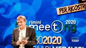 Bernhard Scholz, presidente della Fondazione Meeting per l'amicizia fra i popoli