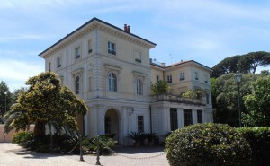 Villa Il Vascello a Roma, sede del Grande Oriente d'Italia e di memorie risorgimentali