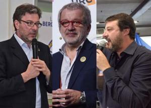 Maroni tra Giorgetti e Salvini