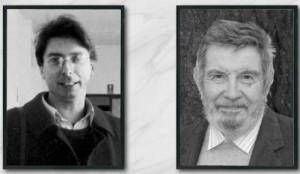 """Alexander Langer e Giorgio Nebbia (da """"Il Popolo Veneto"""")"""