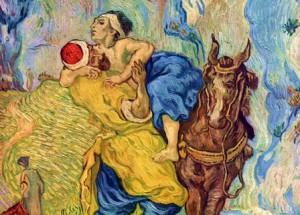Il Buon Samaritano di Van Gogh