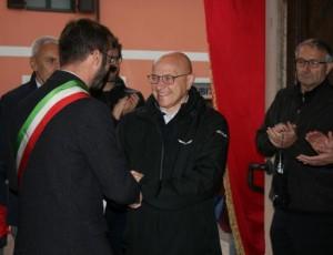 L'ex parroco di Casciago, don Norberto Brigatti, ora prevosto di Segrate