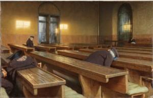 Angelo Morbelli, Giorno di festa al Pio Albergo Trivulzio