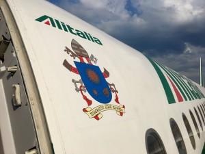 Lo stemma volante di papa Francesco
