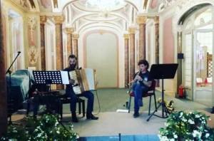 Prova di concerto al Salone Estense