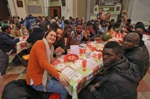 Pranzo di Natale per i bisognosi