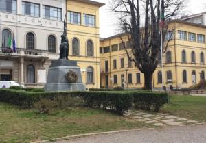 Piazza Mazzini a Tradate