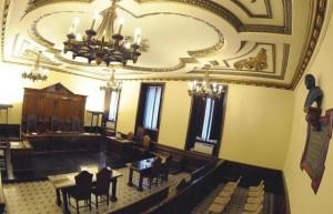 Aula del Tribunale vaticano