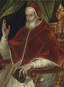 Ritratto di Pio-V (Bartolomeo Passerotti)