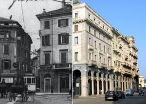 La trasformazione da via Verbano a via Marcobi (da Varesenews)