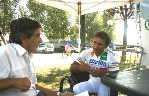 L'incontro con Alex Zanardi a Parabiago (foto V. Ciresa)