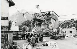 Dopo il terremoto a Cavazzo Carnico