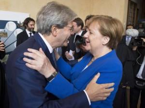 Merkel in Italia nel 2018